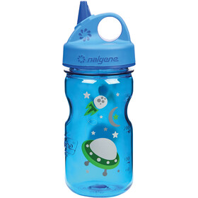 Nalgene Everyday Grip-n-Gulp Drinking Bottle 350ml Kids blue space
